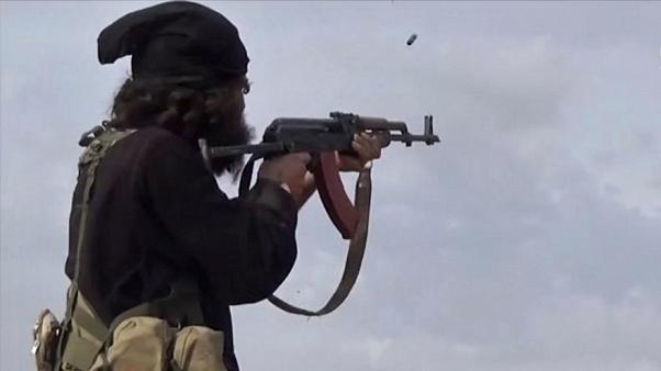 صورة لأحد مقاتلي داعش وكالة أعماق/أ ب