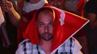 Török szavazó Cipruson