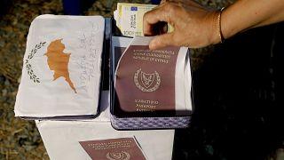 Cyprus passports protest