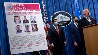 Usa: incriminati sei agenti dell'intelligence militare russa accusati di vari attacchi informatici
