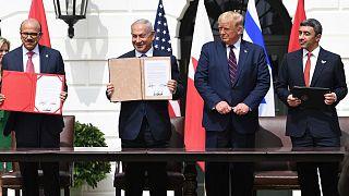"""İsrail, BAE ve Bahreyn arasında """"ilişkilerin normalleştirilmesine"""" yönelik anlaşma"""
