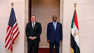 ABD Dışişleri Bakanı Mike Pompeo ağustos ayında Sudan'ı ziyaret etmişti