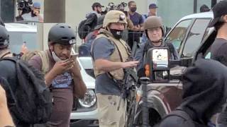 The influence of protests and armed groups on the US election campaign