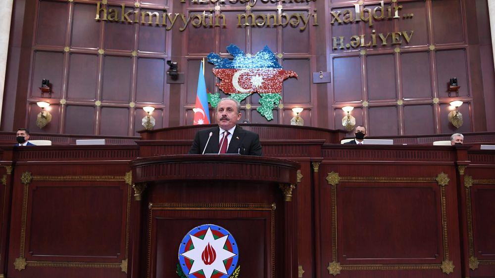 TBMM Başkanı Şentop: Minsk Grubu'nun beyin ölümü gerçekleşmiştir