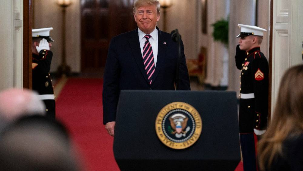 Donald Trump: the 45th US President - and only the third to be impeached