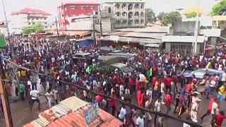 شاهد: احتفالات في غينيا بعد إعلان مرشح المعارضة فوزه بانتخابات الرئاسة