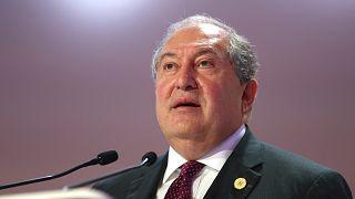 Ermenistan Cumhurbaşkanı Armen Sarkisyan