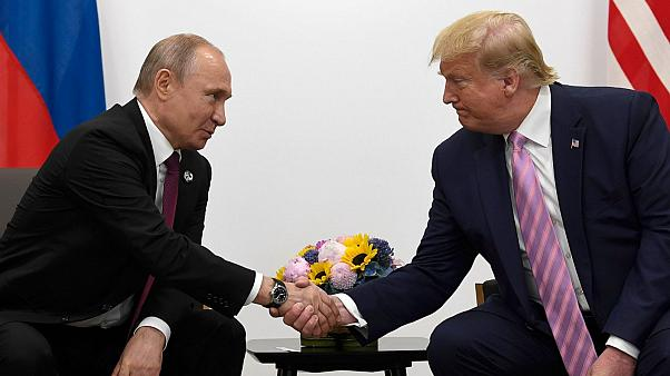 Vladmir Putin ve Donald Trump