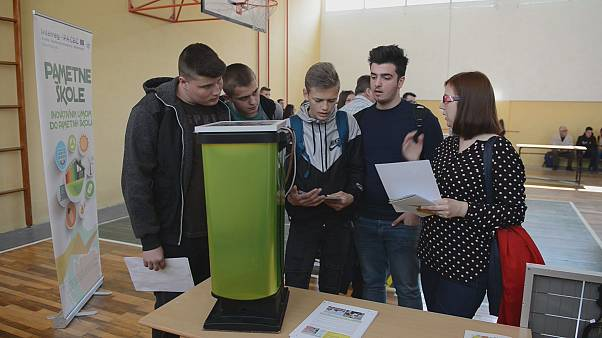 Smart Schools - a cross-border project making Bosnia and Croatia greener