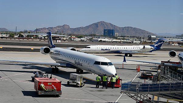 مطار هاربور الدولي في ولاية أريزونا الأمريكية