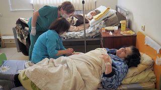 مرضى كوفيد-19