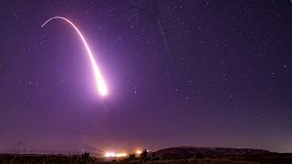 عکس آرشیوی از آزمایش موشکهای «مینیتمن ۳»