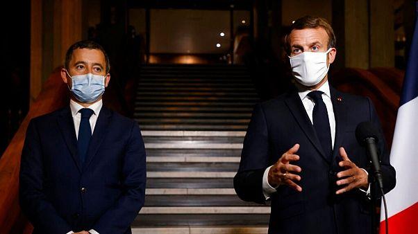 رئیسجمهوری و وزیر کشور فرانسه