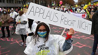 Proteste von VERDI