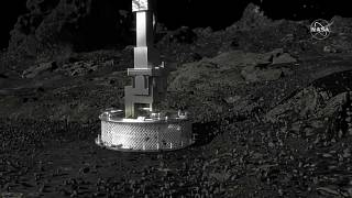 Зонд NASA совершил успешную посадку на астероиде и взял образцы грунта