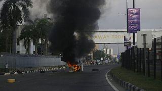 Proteste gegen Polizeigewalt in Lagos