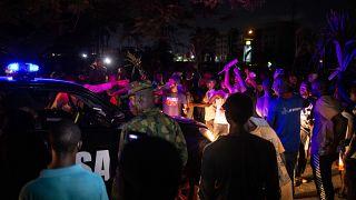Bilan incertain après des tirs sur des manifestants