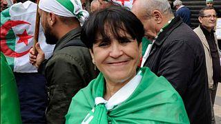 الصحفية ومديرة صحيفة الفجر الجزائرية حدة حزام
