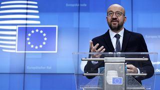 Le président du Conseil européen Charles Michel