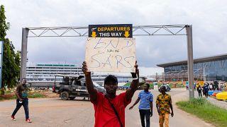 """#ENDSARS """"Justice doit être rendue au NIgéria"""""""