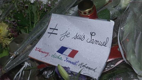 راهپیمایی سکوت برای معلم سر بریده فرانسوی