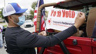 Los latinos en Estados Unidos son la minoría étnica o racial con más peso en la contienda electoral, por encima de los afroestadounidenses.