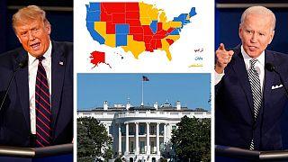 رقابت جو بایدن و دونالد ترامپ در ایالتهای سرنوشتساز
