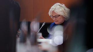 وزيرة العدل الألمانية كريستينه لامبرشت