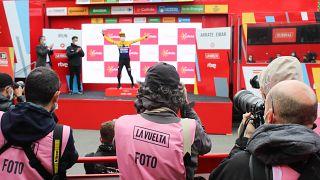 Roglich celebra su merecido podio