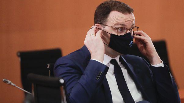 Der deutsche Gesundheitsminister Jens Spahn, 21.10.2020