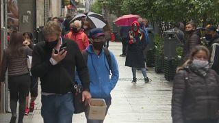 Imagen de una calle de Buenos Aires durante la pandemia