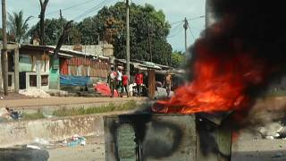 Guinea Presidential: opposition supporters clash with police