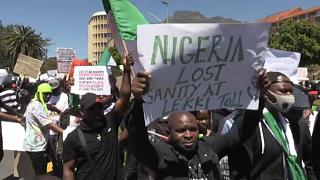 Outrage in South Africa over police brutality in Nigeria