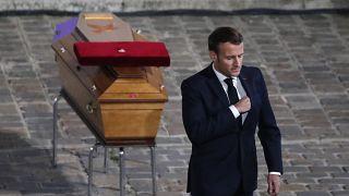 Frankreich nimmt Abschied von getötetem Lehrer