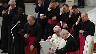 Ferenc pápa heti rendes audienciája