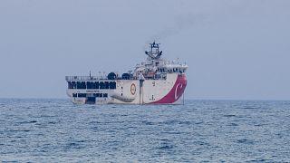 Oruç Reis araştırma gemisi için Navtex uzatıldı