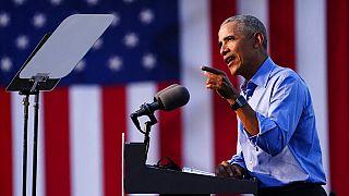 Barack Obama entra en campaña para respaldar a Biden a menos de dos semanas de las elecciones