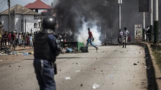 Neuf morts dans des violences à Conakry