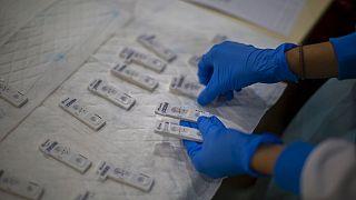 Házhoz viszik a koronavírus-tesztet Madridban