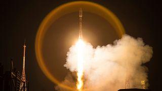 OneWeb uyduları uzaya fırlatılırken / Arşiv