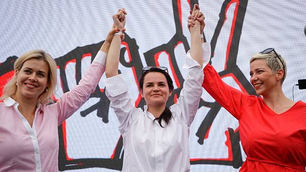 A belarusz ellenzék vezetői