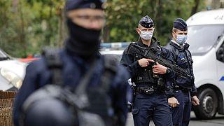 الشرطة الفرنسية تتولى الأمن في منطقة من باريس. 2020/09/25