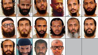 16 من أصل 18 سجينًا يمنيًا كانوا محتجزين في سجن غوانتانامو منذ أكثر من عقد ونقلتهم الولايات المتحدة قبل سنوات إلى الإمارات.