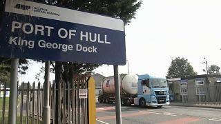 """Британские порты готовятся к """"брекситу"""""""