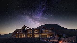 The &Beyond Sossusvlei Private Desert Reserve in Namibia is a designer lodge with its own observatory and a resident astronomer