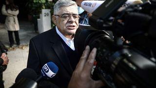 Aşırı sağcı Altın Şafak lideri Nikos Michaloliakos