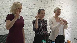 Die mutigen Frauen der Opposition in Belarus
