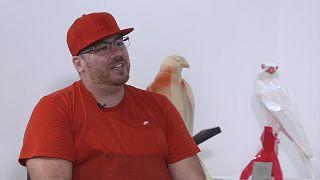 Idriss B, l'artista franco-tunisino che sta facendo scalpore a Dubai