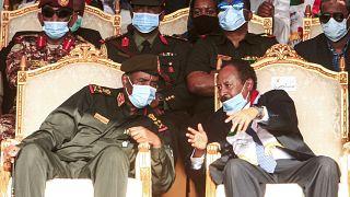 رئيس مجلس السيادة ورئيس الوزراء السودانيين