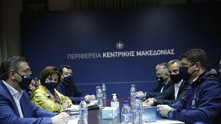 Σύσκεψη στην Περδφέρεια Κεντρικής Μακεδονίας